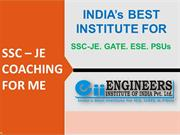 SSC JE Coaching For Mechanical Engineering in Delhi