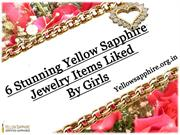6 Stunning Yellow Sapphire Jewelry Items Liked By Girls