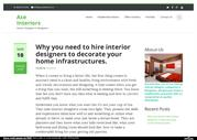 Why you need to hire interior designer
