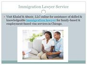 Immigration Lawyer Service
