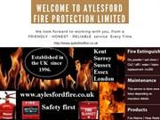 For All Your Fire Safety Needs We Can Be Carry Out This Important Task