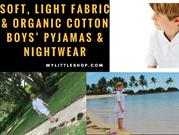 Soft, Light Fabric & Organic Cotton Boys' Pyjamas & Nightwear