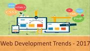 Web Develpment Trends 2017