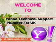 Get Superb Help On Tech Support for yahoo mail 0-800-404-9463