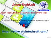 Atom TechSoft Excel Password Recovery Software