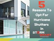 5 Factors To Choose Hurricane Shutters In StormSmart, Florida