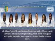 Neck Pain and Back Pain | Goldson Spine Rehabilitation Center