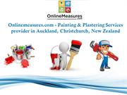 Best Painting and Plastering Services New Zealand