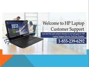 HP Laptop Customer Support Number 1-855-239-6292
