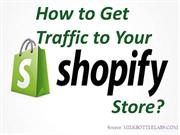 How to Get Traffic to Your Shopify Store