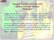 Explore Scotland of India with Golden Triangle Holiday Packages