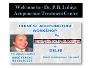 Best Acupuncture Therapy Services in Delhi
