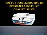 How To Troubleshooting HP Officejet 4650 Print Quality