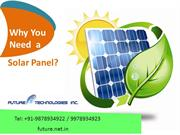 Why You Need a Solar Panel?