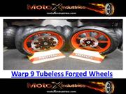 Tubeless Forged Wheels