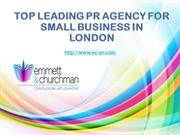 Pr Agency For Small Business | Ec-pr