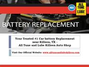Find your Reliable Car Battery Replacement near Killeen TX