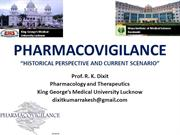 Pharmacovigilance_Past and Current Scenario