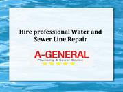 Hire professional Water | Sewer Line Repair |Sewer Cleaning Service NJ