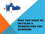 Why you need to Develop A Website for your Business
