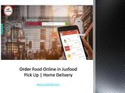 Order Food Online in Jusfood