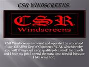 Windscreen Repair & Windscreen Replacement
