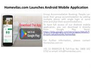 Homevilas.com Launches Android Mobile Application
