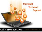 Microsoft Office Technical Support - Call @ 1800-400-1970