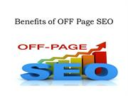 Benefits of OFF Page SEO - Mario Prisciandaro