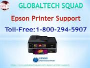 Best Support For Epson Printer Toll-Free:1-800-294-5907