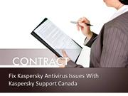 Fix Kaspersky Antivirus Issues With Kaspersky Support Canada