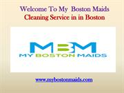 Home Cleaning Company in Boston