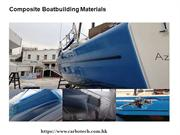 Composite Boatbuilding Materials Services Hong Kong