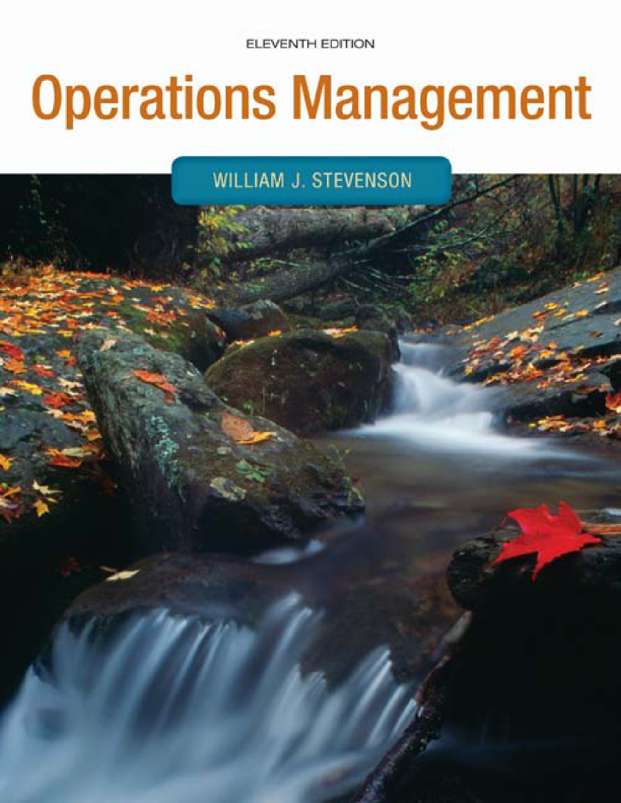 Oprations Management 11th Stevenson Authorstream Cable Diagram Http Wwwpoweredtemplatecom Powerpointdiagrams Related Presentations