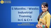 Learn C Programming Language - 6 Months / Weeks Industrial Training