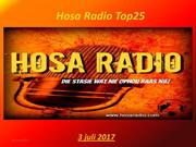 Hosa Radio Top25 03-07-2017