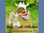 Shop Animal Baby Towels Collections at Little West Street