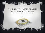 Allergies Homeopathy Treatment System
