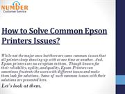 How to Solve Common Epson Printers Issues