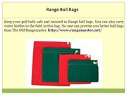 Range golf ball washer