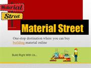 Buy Construction Material Online From Material Street