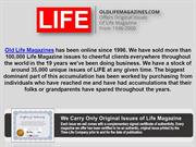 Life Magazine Issues from 2000 by Old Life Magazine