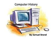 Comp Info Sys Computer History