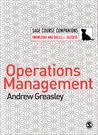 Operations Management Andrews Greasley Sage Course Comanions