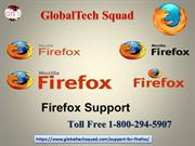 Support for Firefox  | Toll Free 1-800-294-5907