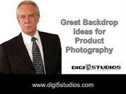 Great Backdrop ideas for Product Photography