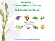 Best Quality Essential oils @ Aroma Essential Oil Store
