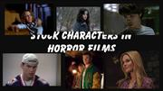 stock characters in horror films