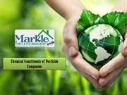 Chemical Constituents of Pesticide Companies