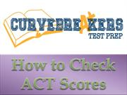 How to Check ACT Scores